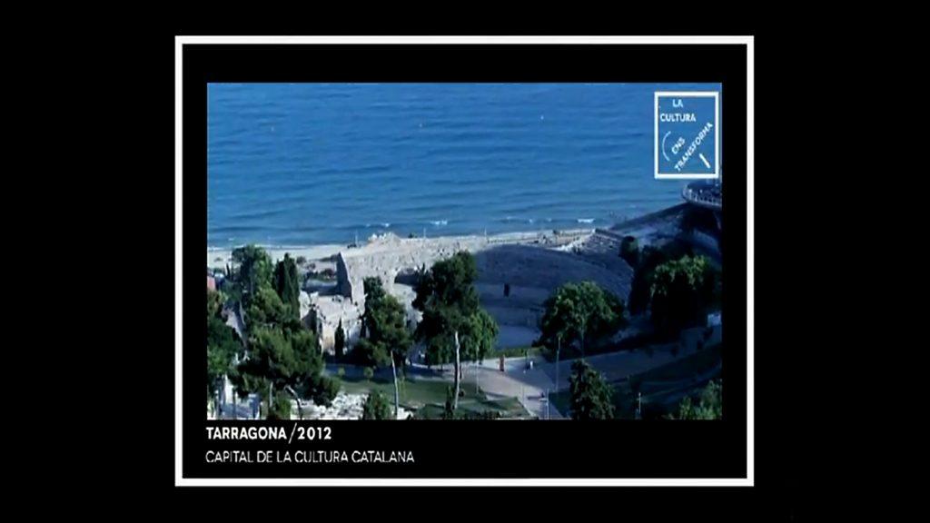 Una de les imatges de l'espot promocional de Tarragonan 2012