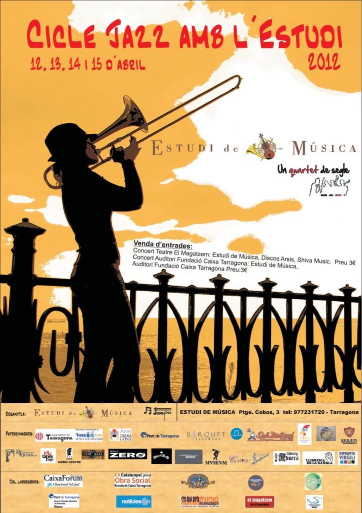 Cartell del cicle Jazz amb l'Estudi