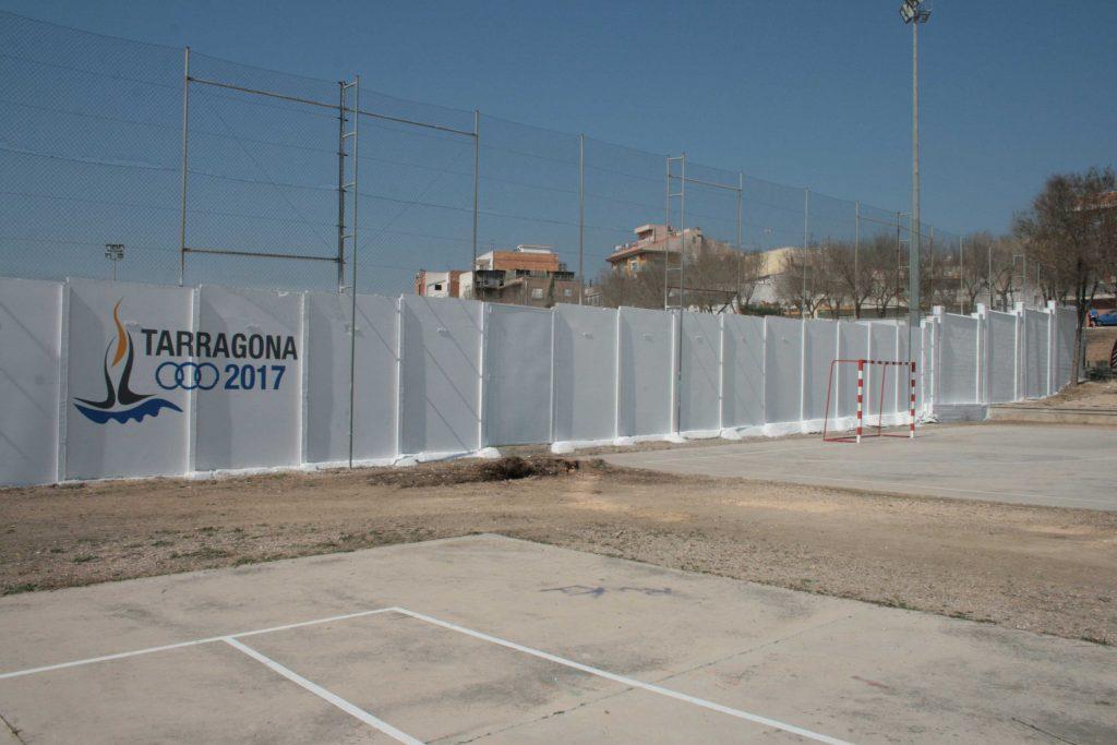 El mur exterior del camp de futbol de Bonavista acollirà aquesta intervenció artística