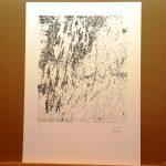 Pilar Lanau s'enduu el primer Premi d'Obra Gràfica Recercat amb l'obra 'Landscape'