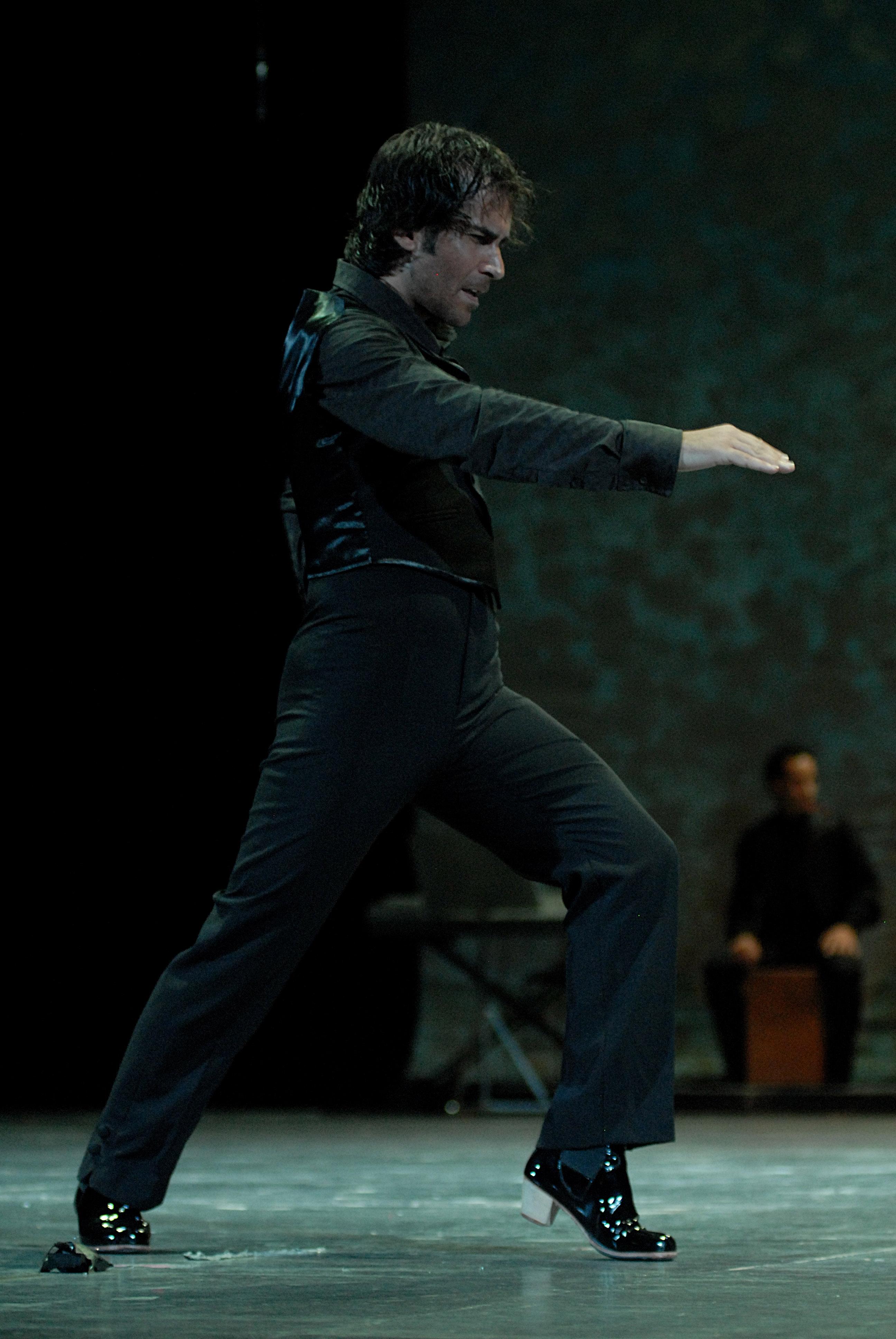 El ballarí Francis Núñez