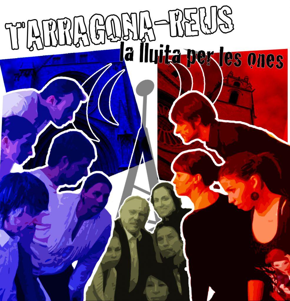 Cartell de l'obra Tarragona - Reus: la lluita per les ones