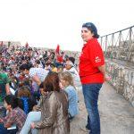 Les lluites de gladiadors van omplir l'Amfiteatre de públic cada dia i els Amics de la Cultura van ser-hi presents