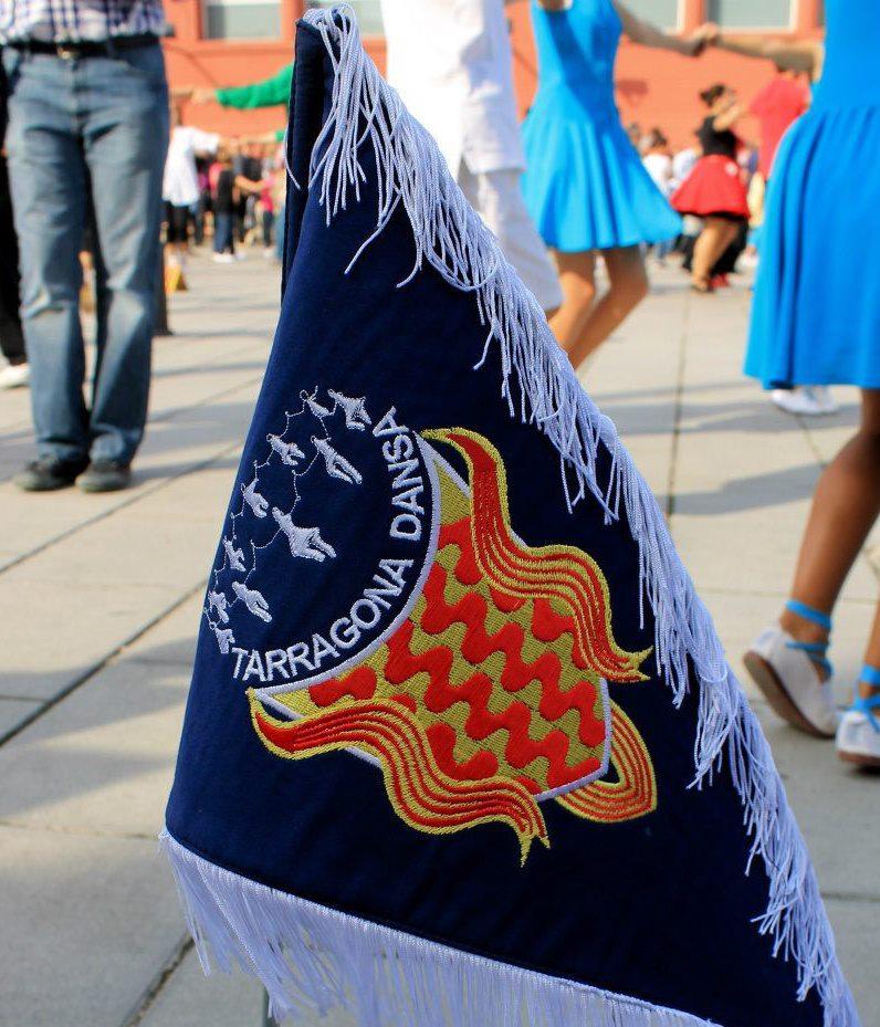 Banderí de l'Agrupació Sardanista Tarragona Dansa