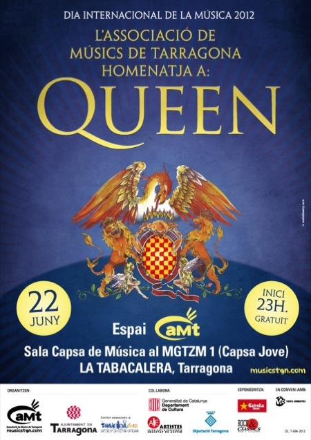 Cartell del Concert del Dia de la Música 2012