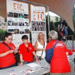 Una vintena d'Amics de la Cultura assisteixen a la inauguració de l'ETC