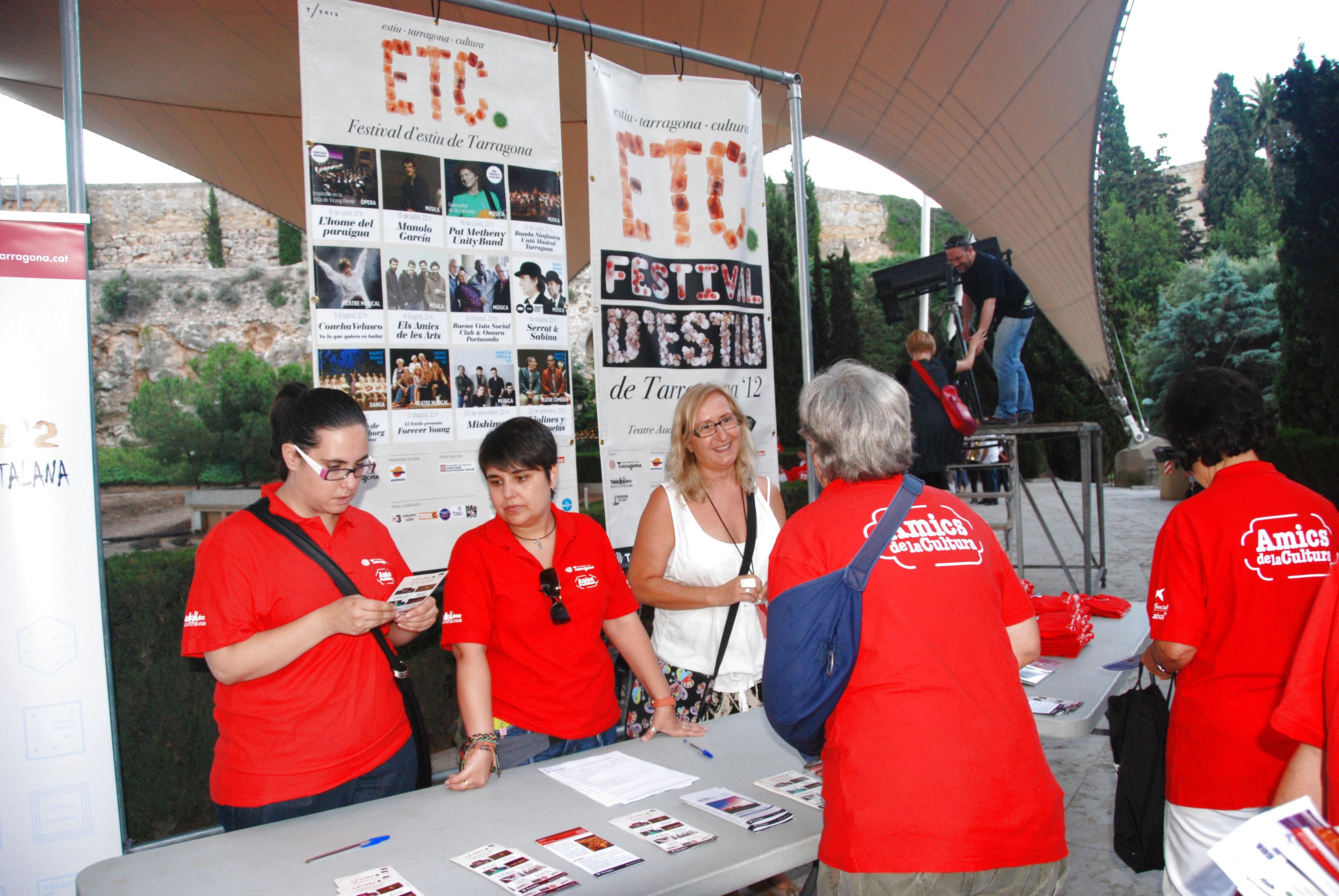 Els Amics de la Cultura col·laboren amb el Festival ETC