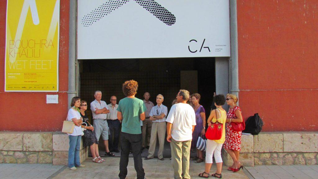 """Els Amics de la Cultura, a punt de visitar l'exposició """"Wet Feet"""""""
