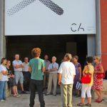 """Els Amics de la Cultura visites l'exposició """"Wet Feet"""" del Centre d'Art de Tarragona"""