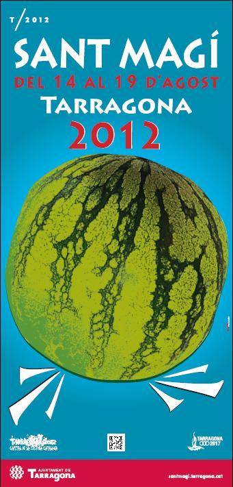 Cartell de les festes de Sant Magí 2012
