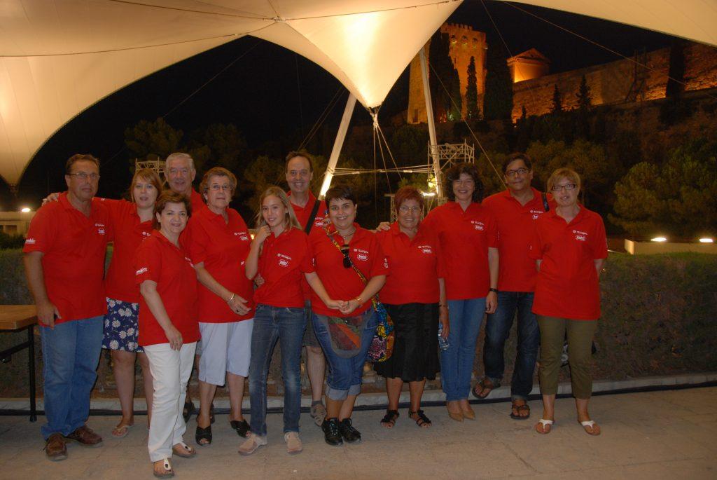 Els Amics de la Cultura presents en el concert de Buenavista Social Club i Omara Portuondo