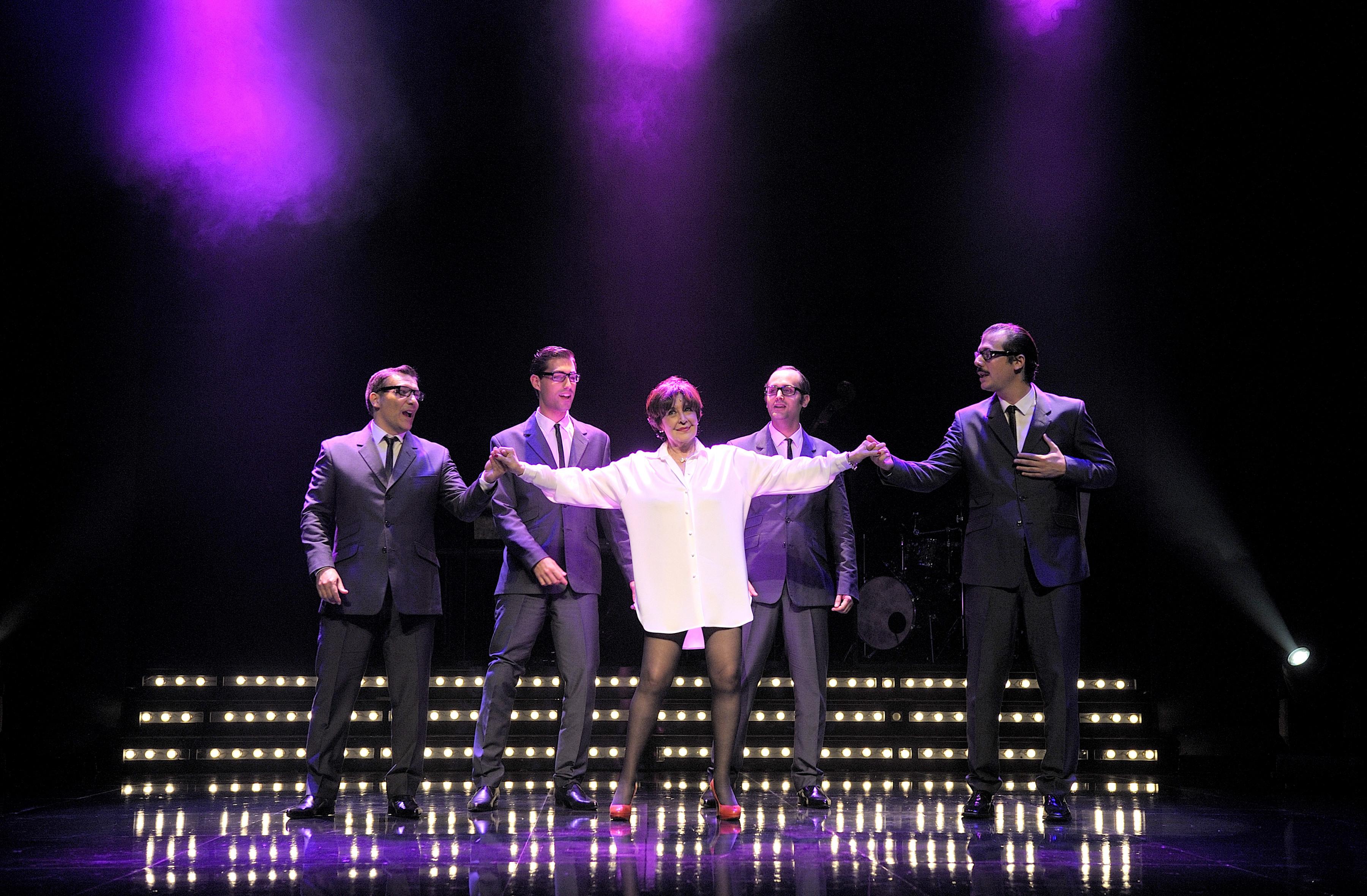 Roger Conesa (a la dreta) en una de les imatges promocionals de 'Concha, yo lo que quiero es bailar'. Foto David Ruano