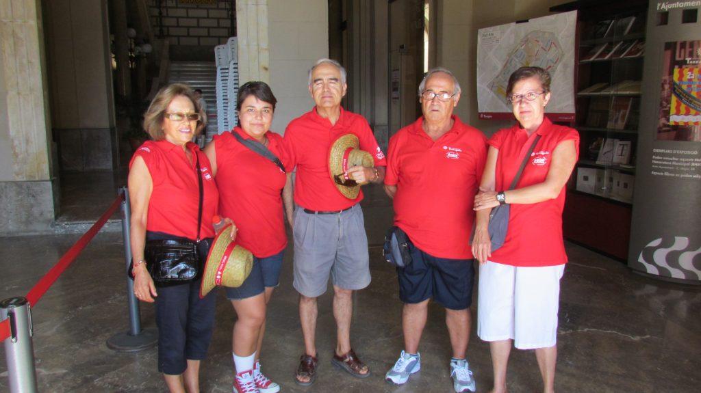 Els Amics de la Cultura van donar suport en la diada del primer diumenge de Festes