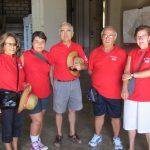 Els Amics de la Cultura participen en la primera diada castellera de Santa Tecla
