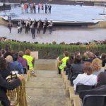 Els Amics de la Cultura assisteixen els participants a la Trobada de Bandes de Música de Catalunya