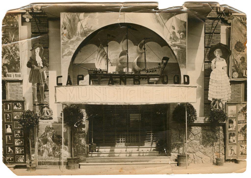 L'antic Teatre Tarragona, quan funcionava com a cinema