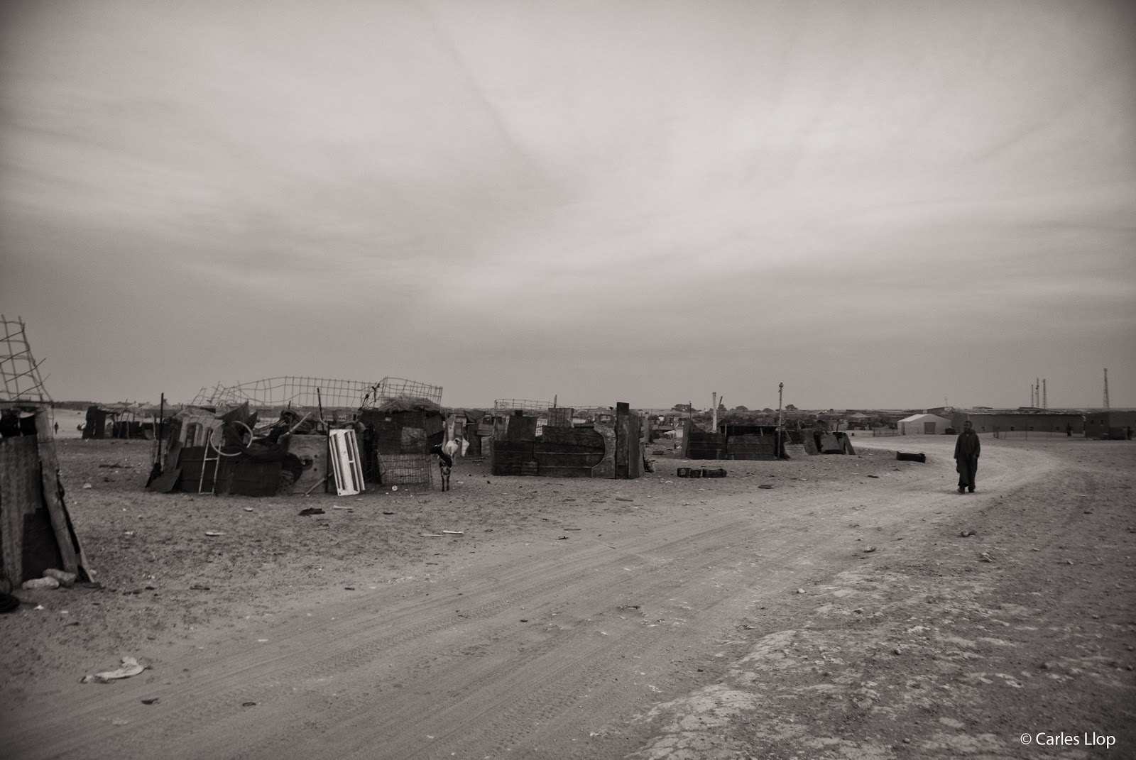 Un dels campaments del Sàhara. Foto: Carles Llop