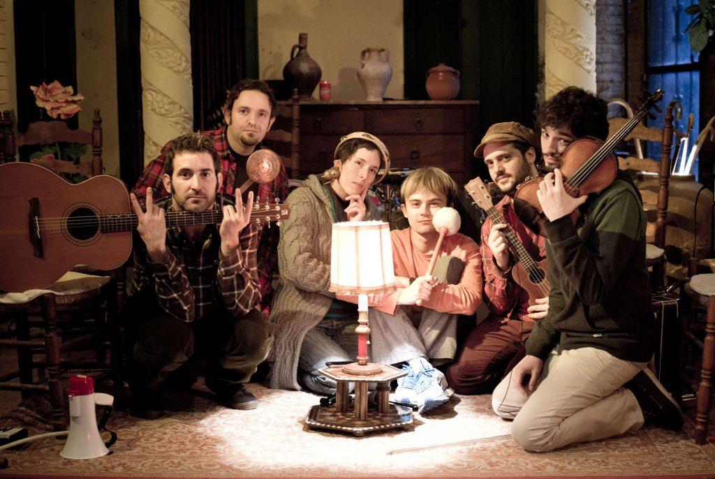 Fotografia promocional dels components del grup tarragoní Lecirke