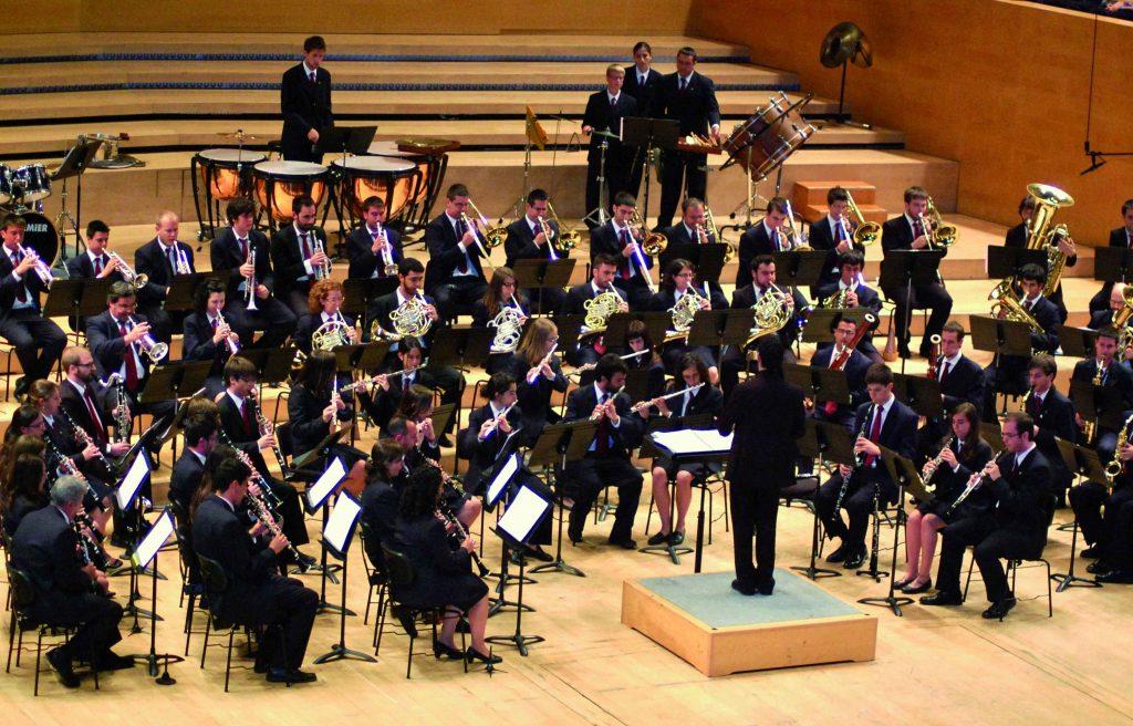 Imatge promocional de la Banda Simfònica Unió Musical de Tarragona. Foto cedida
