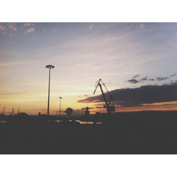 El sol s'ha posat. Foto: Laia Marín