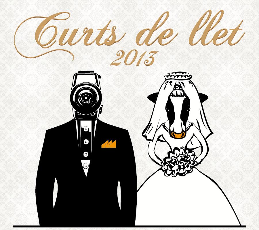 Portada del CD promocional 'Curts de llet 2013'