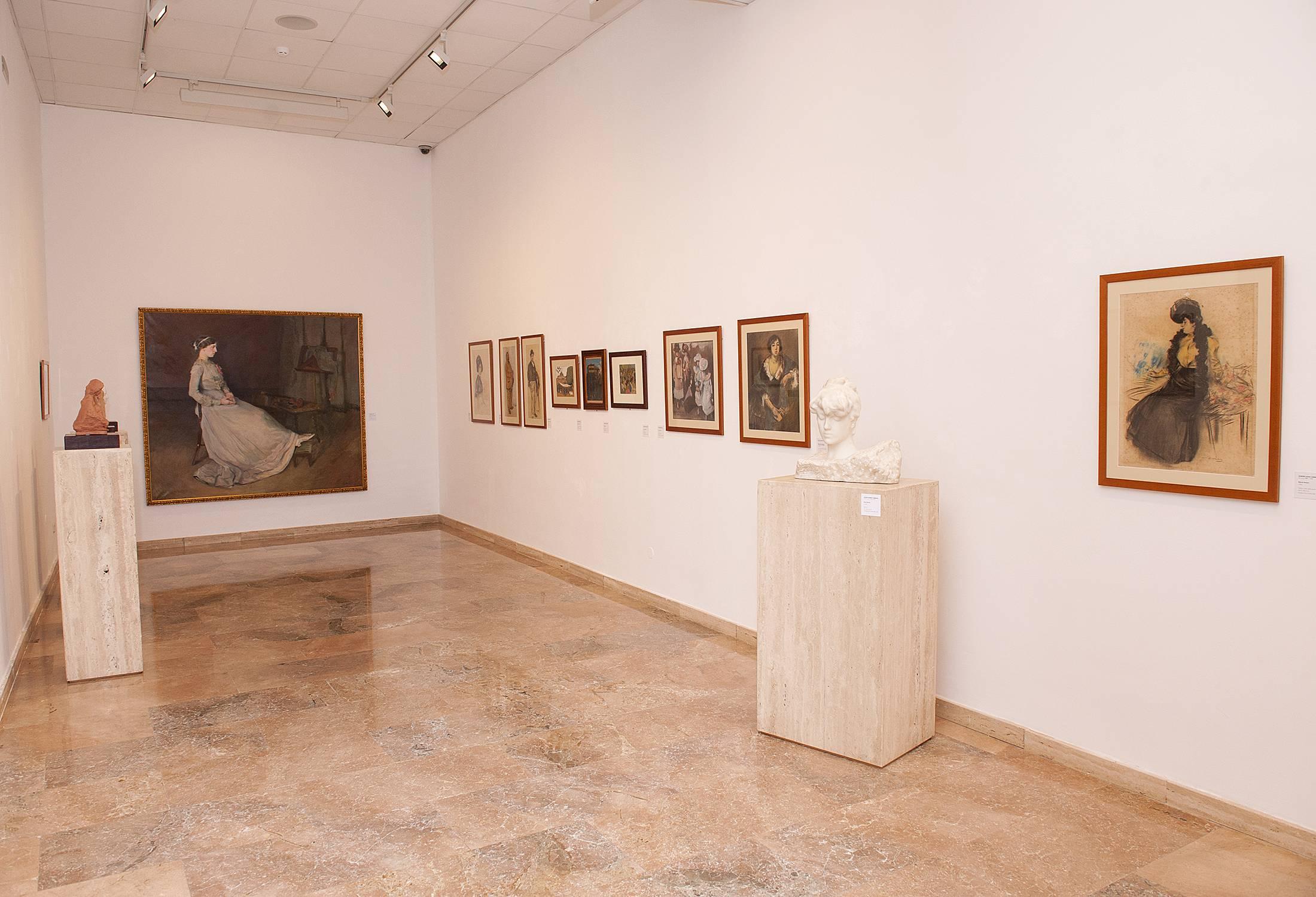 """Obres de l'exposició """"Pau Casals, col·leccionista d'art"""". Diputació de Tarragona, AF Museu d'Art Modern, Alberich Fotògrafs"""