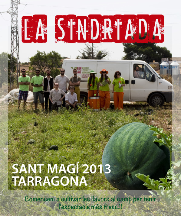 Cartell promocional de la Sindriada 2013