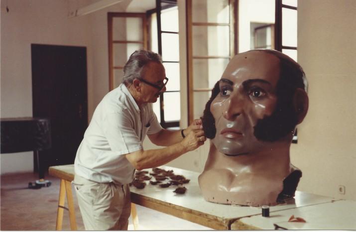 El perruquer i postisser Josep Llort i Bofarrull és, enguany, el Perpetuador de les Festes a títol pòstum (foto. Família Llort)