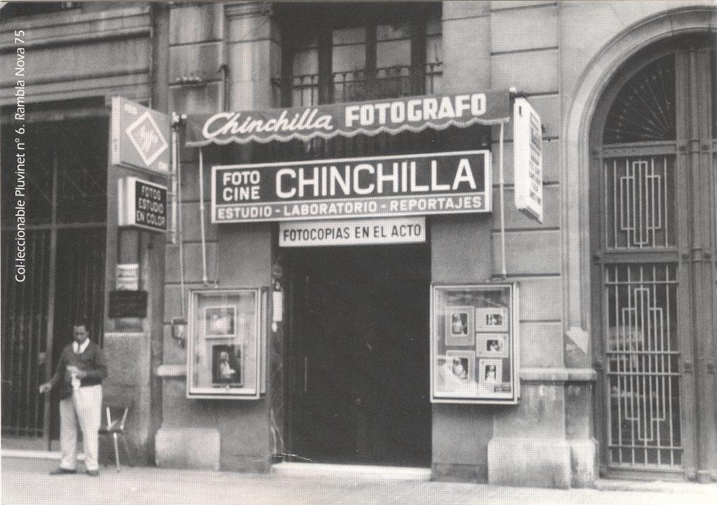 Imatge de la botiga Foto Cine Chinchilla, ubicada al número 75 de la Rambla Nova
