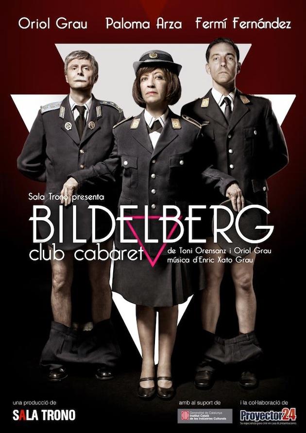 Cartell promocional de Bildelberg Club Cabaret