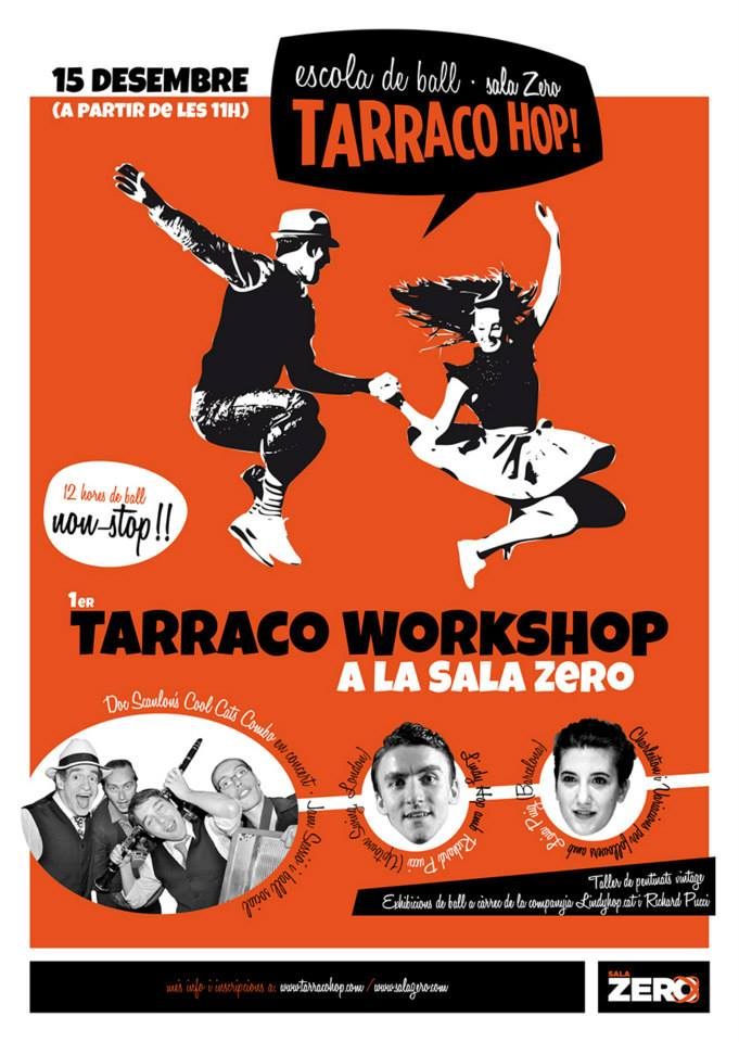Cartell promocinoal del 1er Tàrraco Workshop