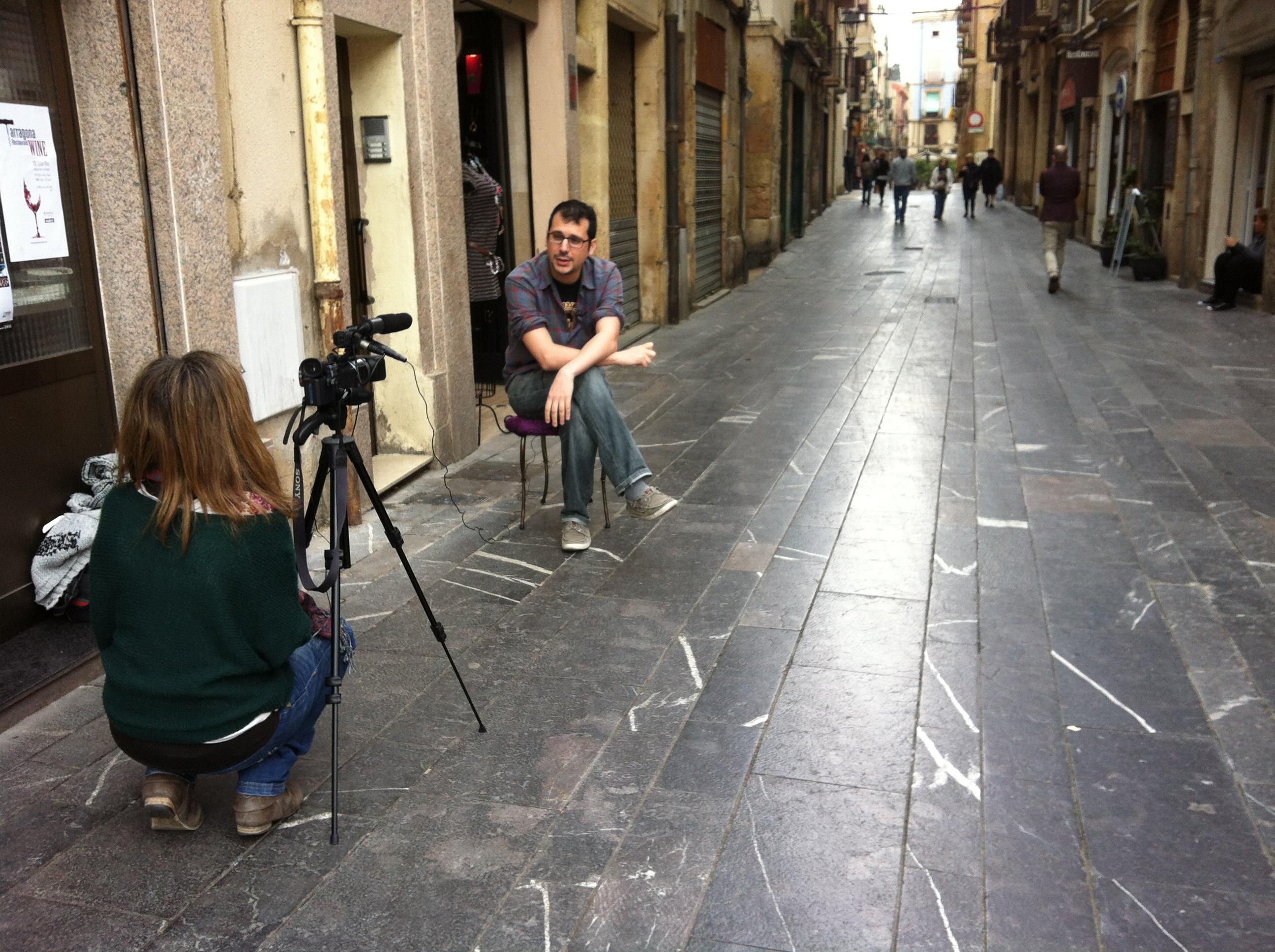 Roger Benet entrevistat per al #FandeTGN