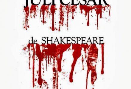 Cartell promocional de l'obra Juli Cèsar
