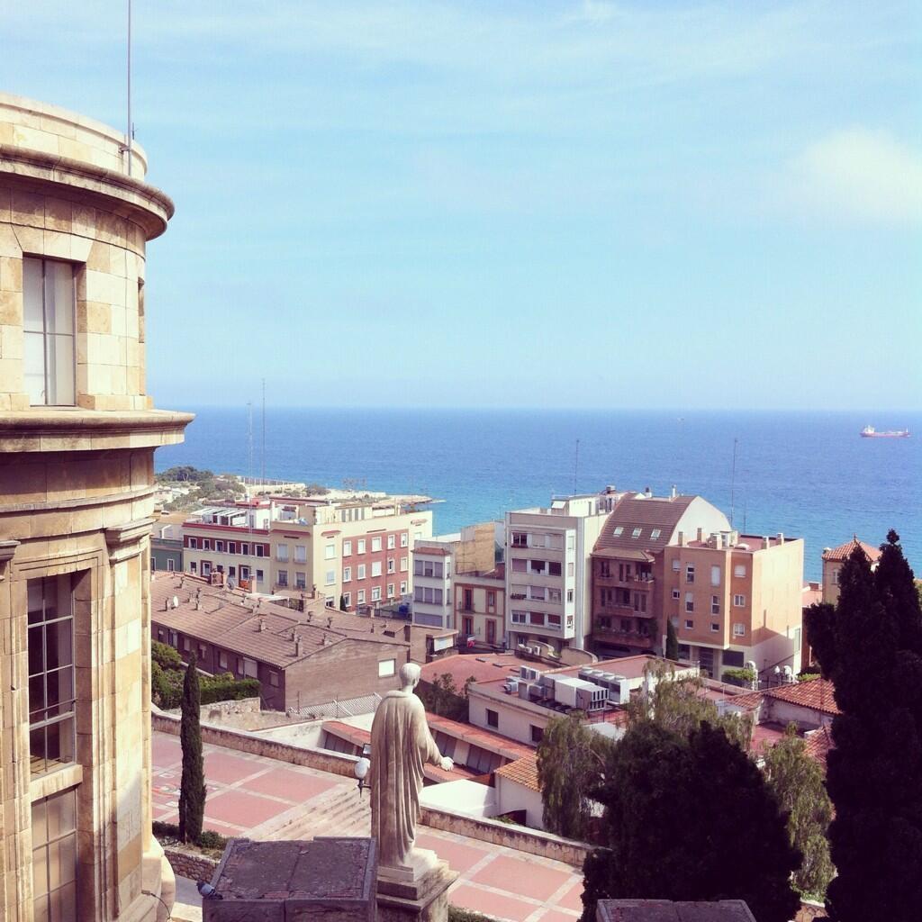 Les vistes impagables d'avui. Foto d'@esther_go