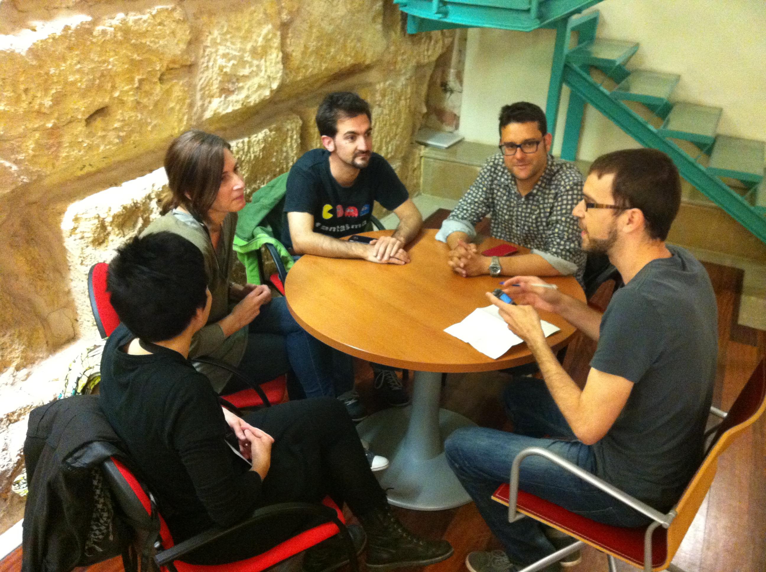 Cafès de Patrimoni entrevista