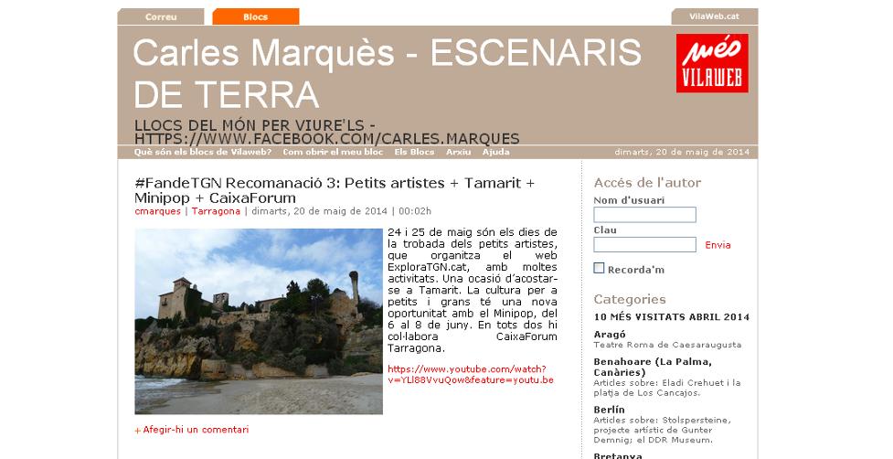 Carles Marques blog