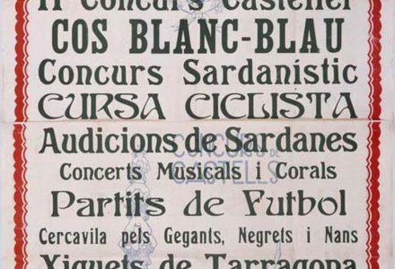 Cartell Santa Tecla 1933