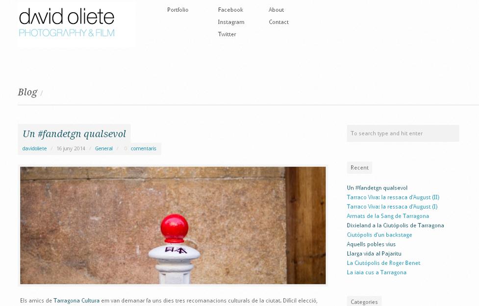 Blog David Oliete