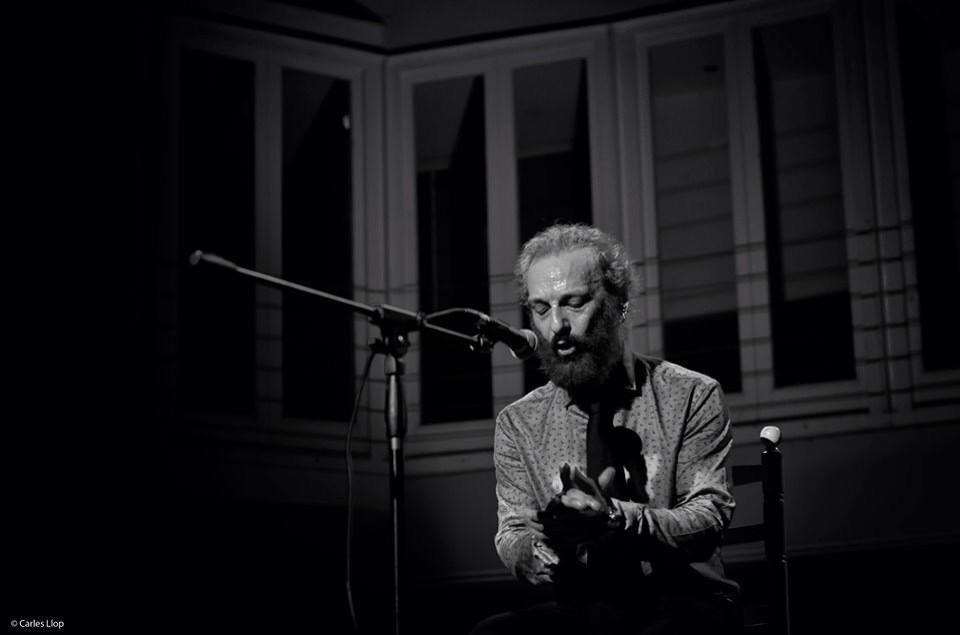 Actuació del cantaor Duquende al Cafè Metropol. Foto de Carles Llop