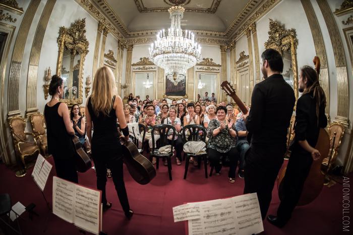 Concert de 22 Strigns Quartet a Casa Canals. Fotografia Antoni Coll