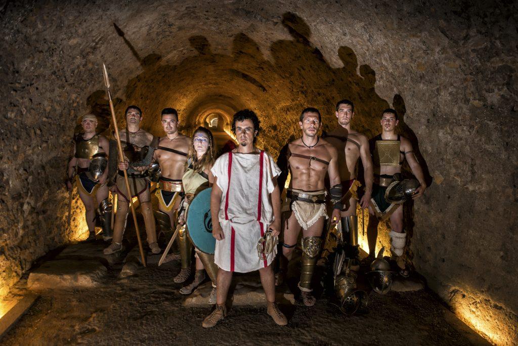 Tarraco Ludus al circ romà. Foto Andreu Gual