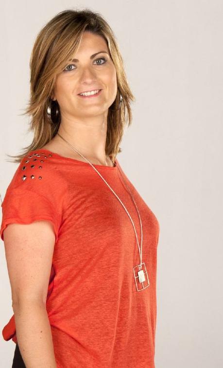 Raquel Sans, en una imatge promocional del programa 'Quarts de Nou' de TV3