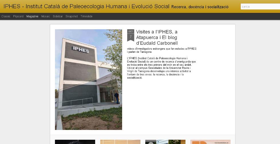 Blog IPHES