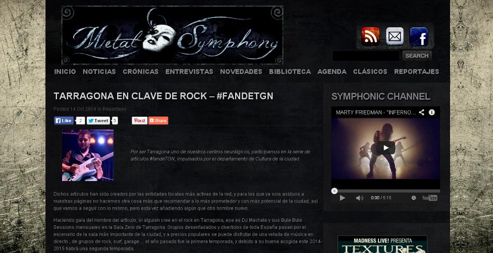 Blog Metal Symphony