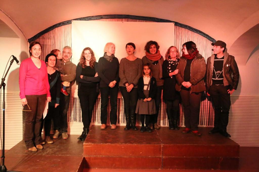"""Foto de grup a la inauguració de l'exposició """"El Fotògraf Convidat"""""""