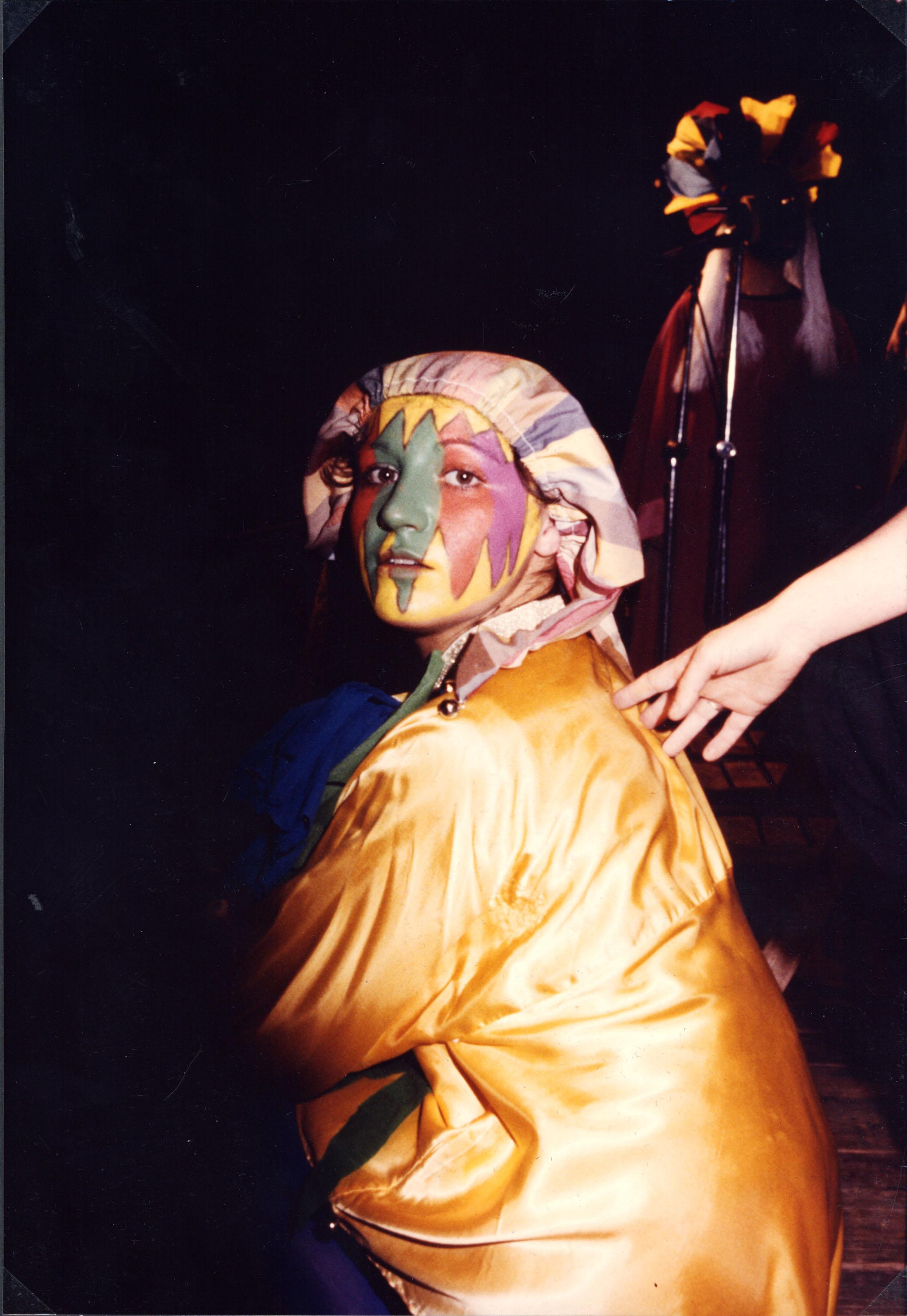Victòria Gras. 1982. Foto: autor desconegut