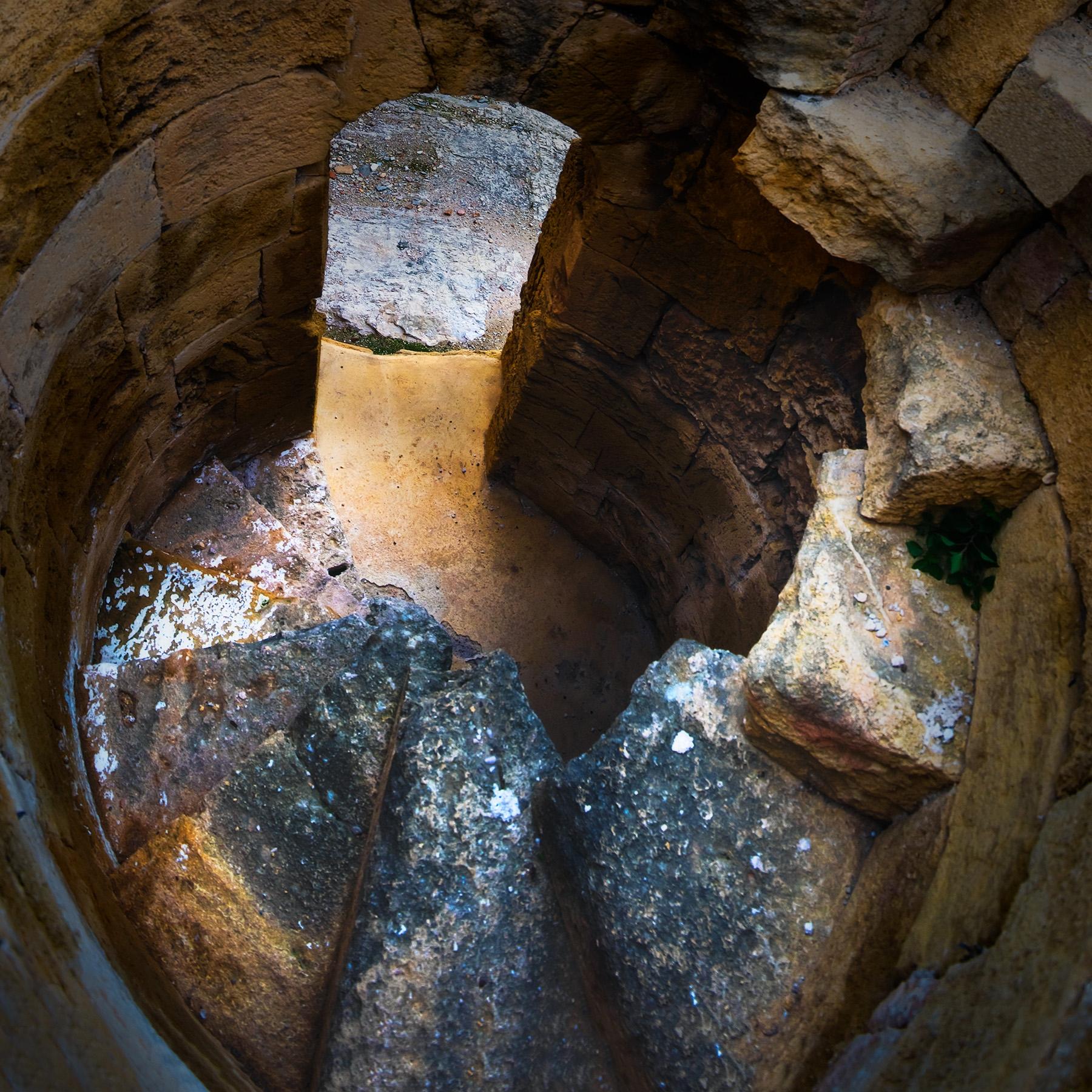 Estrats arqueològics. Foto de Rubén Perdomo