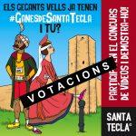 Votació final del concurs #GanesdeSantaTecla