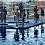 Escultura 'La plaça' de Beatrice Bizot al Serrallo - Foto: @rosaibarz