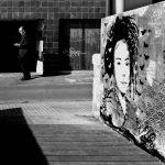 Grafit al carrer Pons d'Icart. Foto: @tonet001